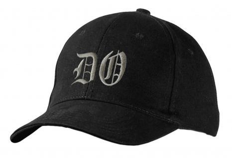 Baseballcap mit Einstickung - DO Dortmund - 68434 schwarz