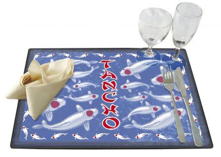 Platzdeckchen - Fisch Koi Tancho - Gr. ca. 40cm x 28cm - KO242