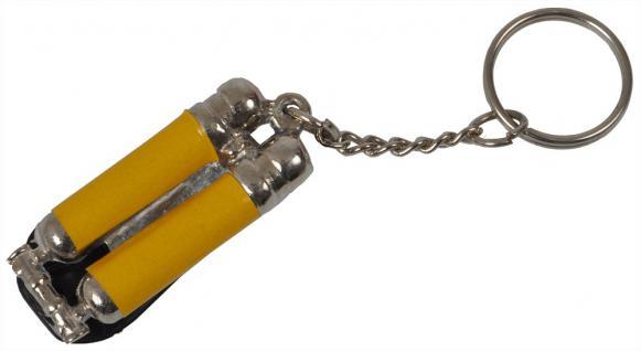 Metall- Schlüsselanhänger - Feuerwehr Sauerstoffflasche - 02312