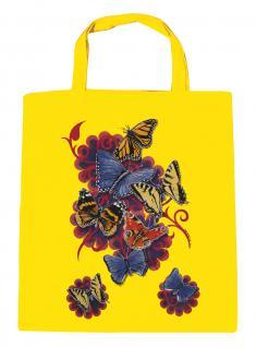 (U09842)Umweltfreundliche Baumwoll - Tasche , ca. 28 x 43 cm mit Aufdruck in 7 Farben gelb