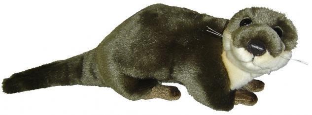 Stofftier - Kuscheltier - Plüschtier - Spielzeug - Otter - Gr ca 30 cm - 39742