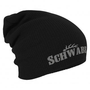 Longbeanie Slouch-Beanie Wintermütze Schwabe 54873 schwarz