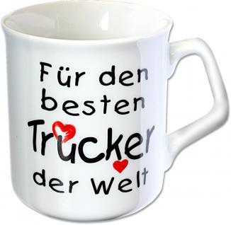Tasse mit Aufdruck für den besten Trucker der Welt 57285