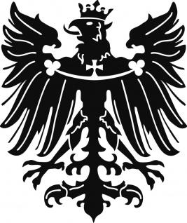 Aufkleber Applikation - Preussen Adler - AP4098 - versch. Größen