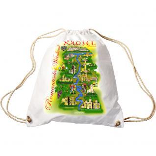 Trend-Bag mit Aufdruck - Mosellauf - 65034 - Turnbeutel Sporttasche Rucksack