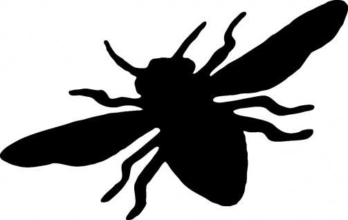 Aufkleber Applikation - Biene - AP1057 - versch. Größen