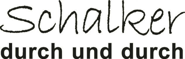 """Applikation """" Schalker durch und durch"""" in 5 Farben und 5 Größen AP4204 schwarz / 25 cm"""