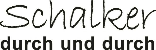 """Applikation """" Schalker durch und durch"""" in 5 Farben und 5 Größen AP4204 schwarz / 30 cm"""