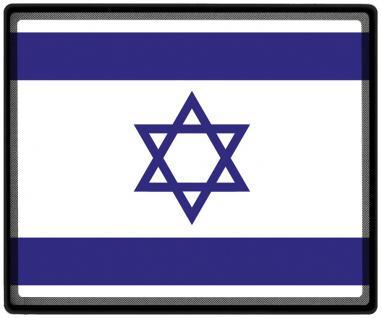 Mousepad Mauspad mit Motiv - Israel Fahne Fußball Fußballschuhe - 82069 - Gr. ca. 24 x 20 cm
