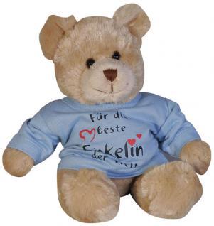 Plüsch - Teddybär mit Shirt - für die beste Enkelin der Welt - 27034