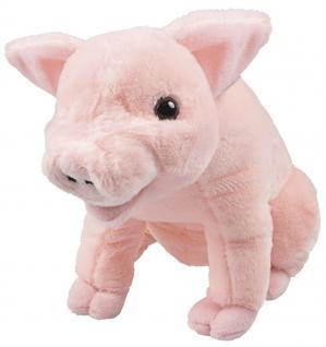 Stofftier - Kuscheltier - Plüschtier - Spielzeug - Schweinchen - 39974