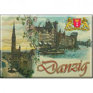 MAGNET - Danzig - Gr.8x5, 5 cm - 37608 - Küchenmagnet