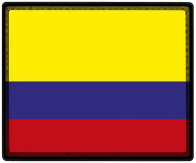 Mousepad Mauspad mit Motiv - Kolumbien Fahne Fußball Fußballschuhe - 82084 - Gr. ca. 24 x 20 cm
