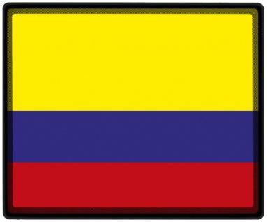 Mousepad Mauspad mit Motiv - Kolumbien Fahne - 82084 - Gr. ca. 24 x 20 cm