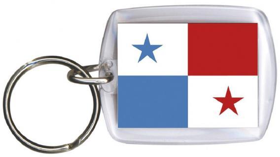Schlüsselanhänger - PANAMA - Gr. ca. 4x5cm - 81126 - Anhänger WM Länder