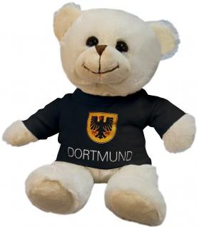 Plüsch - Teddybär mit Shirt - Dortmund - 27082 - Größe ca 26cm