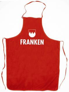 Grillschürze - FRANKEN - 12512 rot