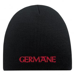 Beanie Mütze Germane 55620 Schwarz