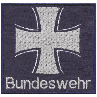 Aufnäher - Bundeswehr - Eisernes Kreuz- 03298 - Gr. ca. 7, 5 x 7 cm - Patches Stick Applikation