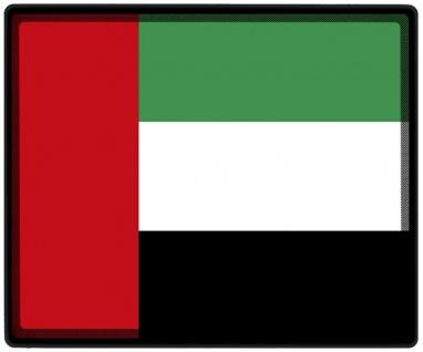 Mousepad Mauspad mit Motiv - Arabische Emirate Fahne - 82013 - Gr. ca. 24 x 20 cm