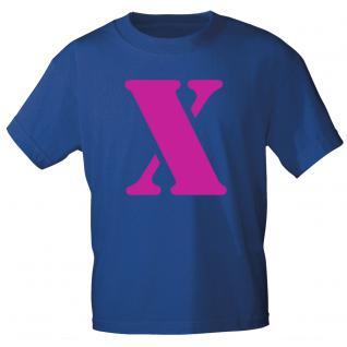 """Marken T-Shirt mit brillantem Aufdruck """" X"""" 85121-X M"""