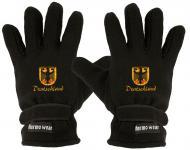 """(40385-56426) Fleece Handschuhe mit Einstickung """" DEUTSCHLAND"""" Handschuhe"""""""