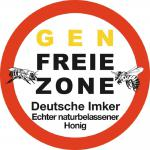 PVC Aufkleber - Genfreie Zone... - 303128-3 - Gr. ca. 8 cm - konturengeschnitten