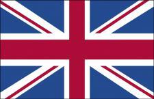 Autoscheiben-Fahne - Großbritannien - Gr. ca. 40x30cm - 78057 - Autoflagge mit Klemmstab - Dekofahne