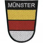 AUFNÄHER - Münster - 00049 - Gr. ca 8 x 6 cm - Patches Stick Applikation