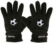 "(40385-56541) Fleece Handschuhe mit Einstickung "" FUSSBALL"""