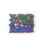 Aufnäher Patches Flower Power Gr. ca. 8, 5 x 7 cm 00308
