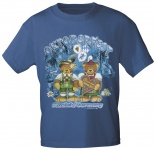 Kinder-T-Shirt mit Print - Oktoberfest München - 08145 marine - Gr. 122/128