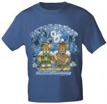 Kinder-T-Shirt mit Print - Oktoberfest München - 08145 marine - Gr. 98/104