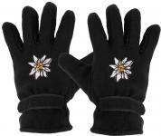 Handschuhe - Fleece - Edelweiss - 31501