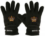 """(40385-56523) Fleece Handschuhe mit Einstickung """" KRONE"""""""