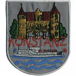 AUFNÄHER - Konstanz - 00343 - Gr. ca. 7, 5 x 8 cm - Patches Stick Applikation