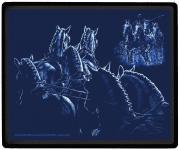 """EYECATCHER für den Schreibtisch Mauspad Mousepad mit Pferdemotiv """" LIGHTLINE FAHRSPORT Gespann Pferde"""" NEU (22676) Kollektion Bötzel"""