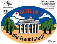 PVC Aufkleber - Berlin - 301555 - Gr. ca. 8, 5 x 13 cm - konturengeschnitten