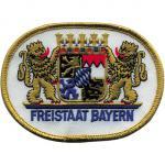 Aufnäher - Freistaat Bayern - 04990-B - Gr. ca. 10cm x 8cm
