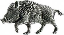 Anstecknadel - Metall - Pin - Keiler laufend - 02746