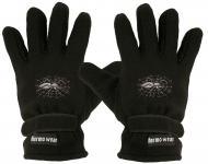 """(40385-56525) Fleece Handschuhe mit Einstickung """" SPINNE IM NETZ"""""""