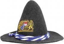 Gaudi-Hut Seppelhut mit Einstickung - Bayern Löwen Emblem Wappen - 51488