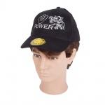 Baseballcap mit Einstickung - Trucker Adler - V8 Power - 69230 schwarz