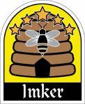 PVC Aufkleber - Imker - 307161-1 - Gr. ca. 6, 5 x 8 cm - konturengeschnitten