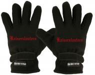 """(40385-56504) Fleece Handschuhe mit Einstickung """" KAISERSLAUTERN"""""""