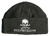 HIP-HOP Mütze Strickmütze mit Einstickung ? Reeperbahn - 40802 schwarz