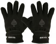 """(40385-56543) Fleece Handschuhe mit Einstickung """" PIK SCHWARZ"""""""