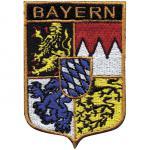 Aufnäher - Bayern Wappen - 00067 - Gr. ca. 5 x 7cm
