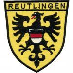 AUFNÄHER - Reutlingen - 00044 - Gr. ca 10 cm x 7cm - Patches Stick Applikation