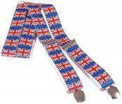 Hosenträger mit Print - Flagge Grossbritannien - 06717